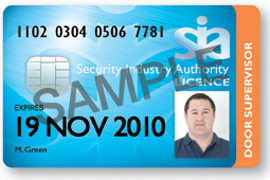 Your SIA Security Guard Licence